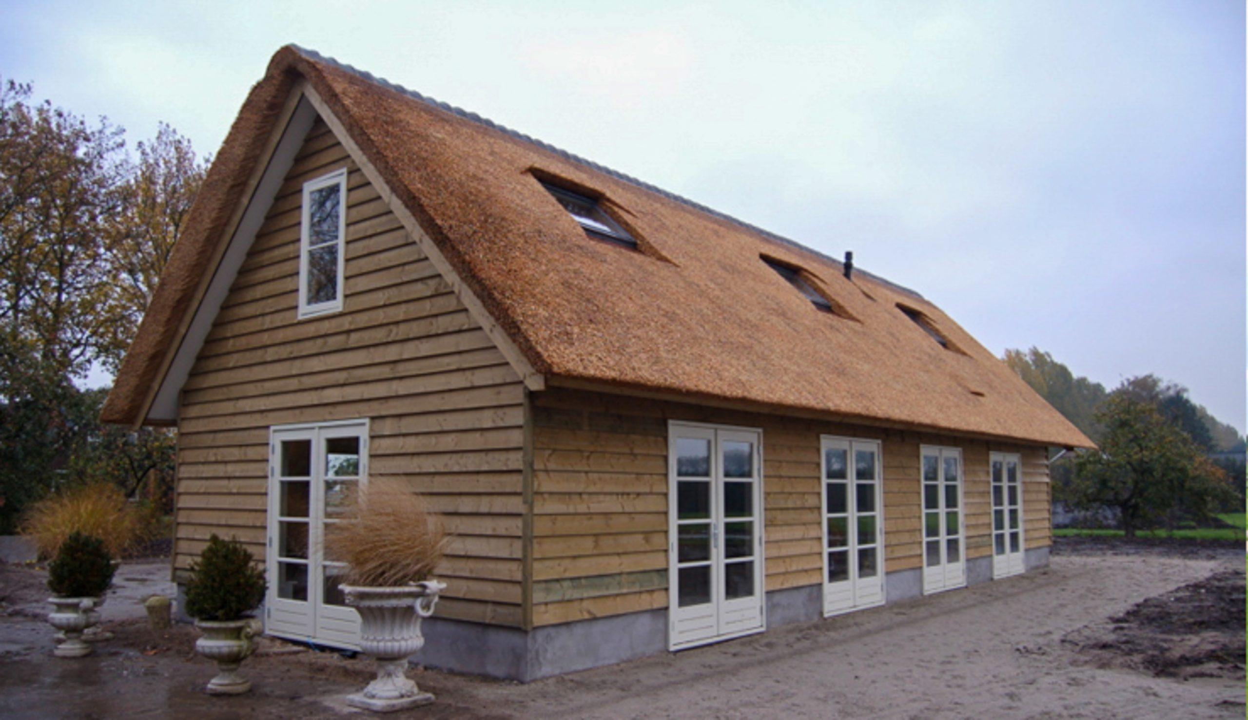 Houten woonhuis 6