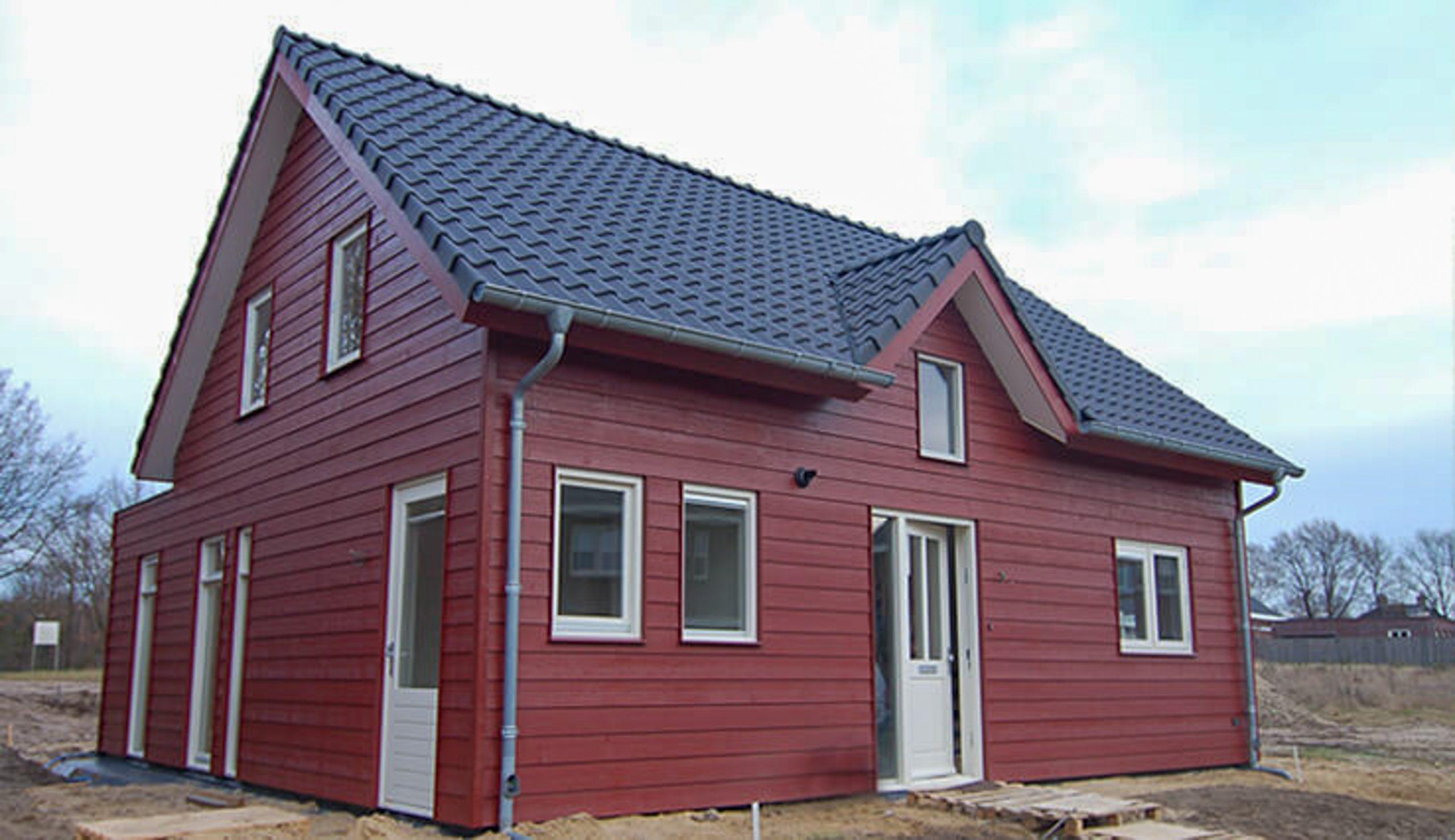 Houten woonhuis 7